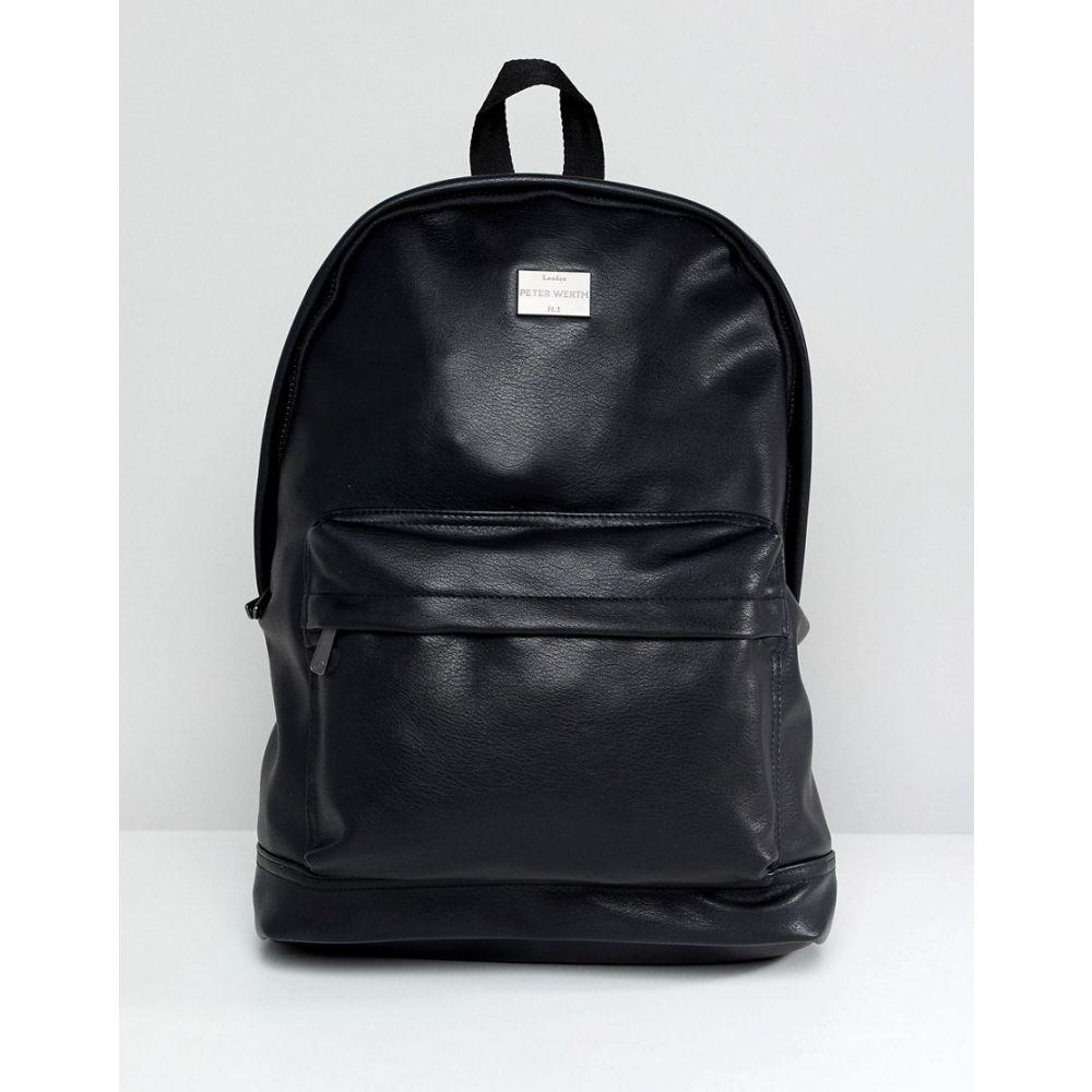 ピーターワース Peter Werth メンズ バックパック・リュック バッグ【Verdon Vintage Rucksack】Black
