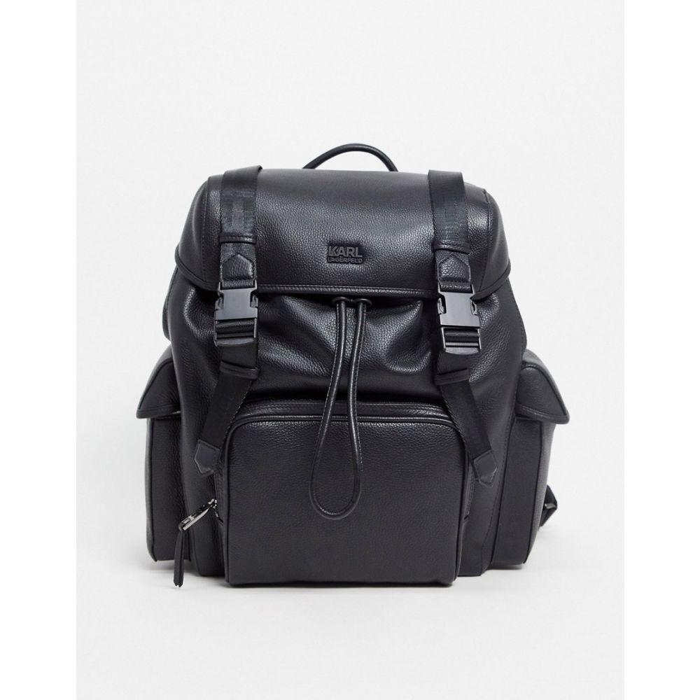 カール ラガーフェルド Karl Lagerfeld メンズ バックパック・リュック バッグ【k/felix backpack】Black