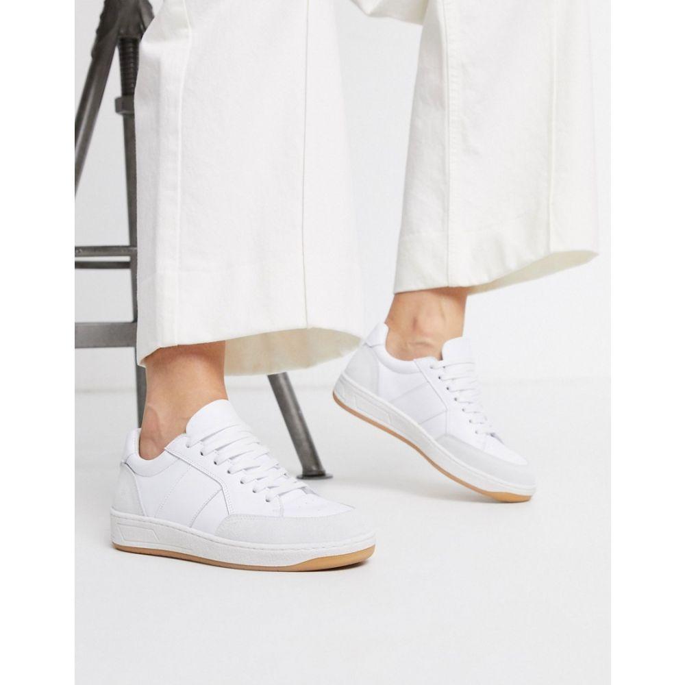 ホイッスルズ Whistles レディース スニーカー シューズ・靴【kew trainer】White