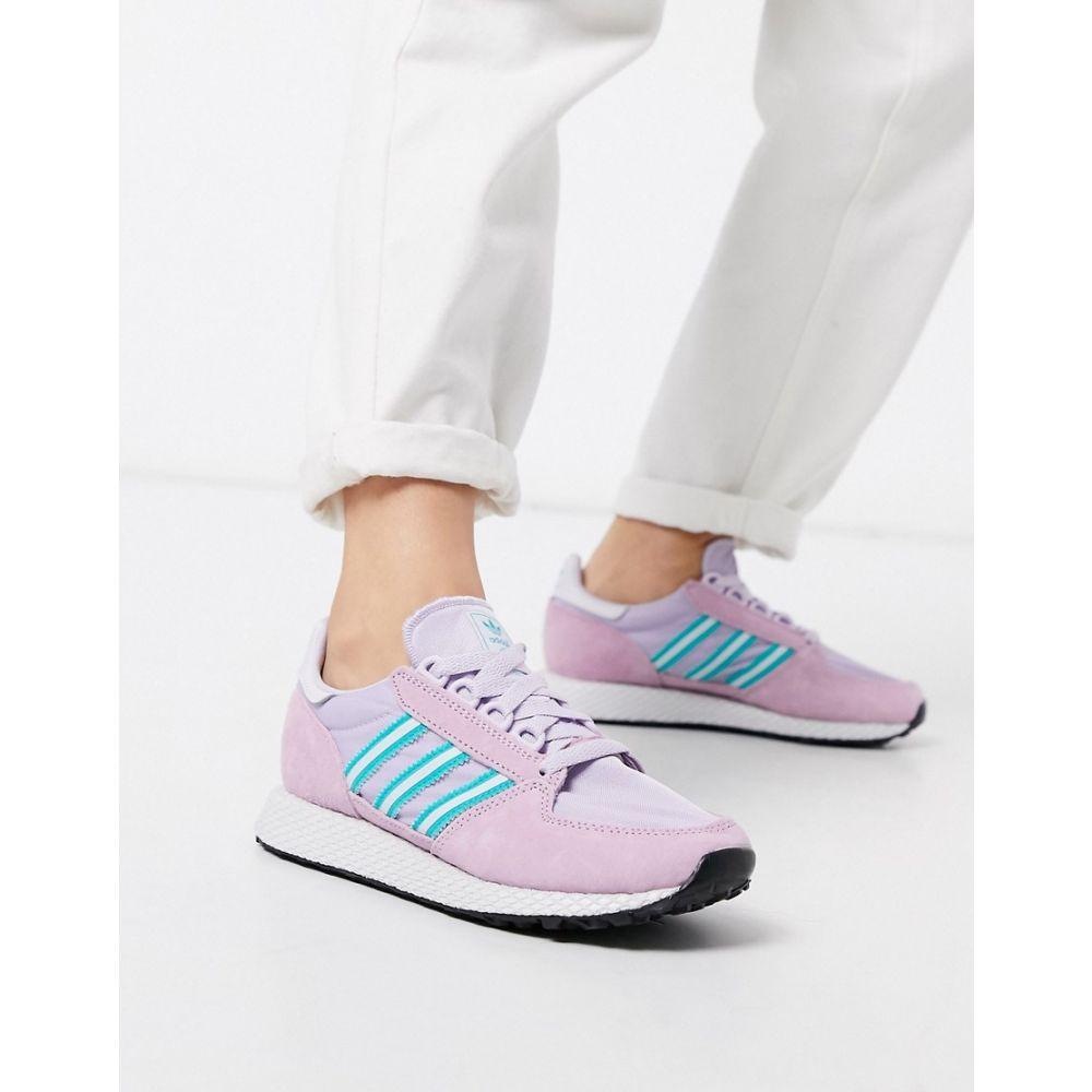 アディダス adidas Originals レディース スニーカー シューズ・靴【Forest Grove trainers in lilac and pink】Pink