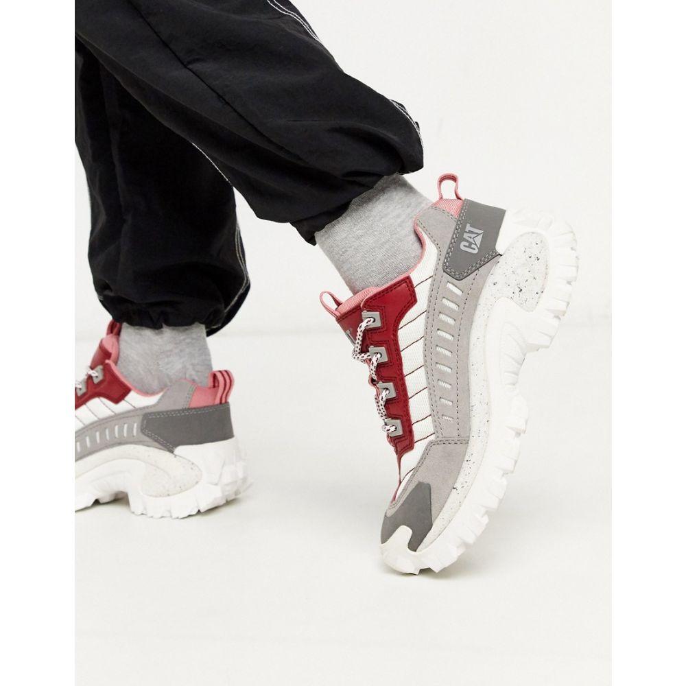 キャットフットウェア Cat Footwear レディース スニーカー チャンキーヒール シューズ・靴【CAT Intruder chunky trainers in colourblock】Rio red
