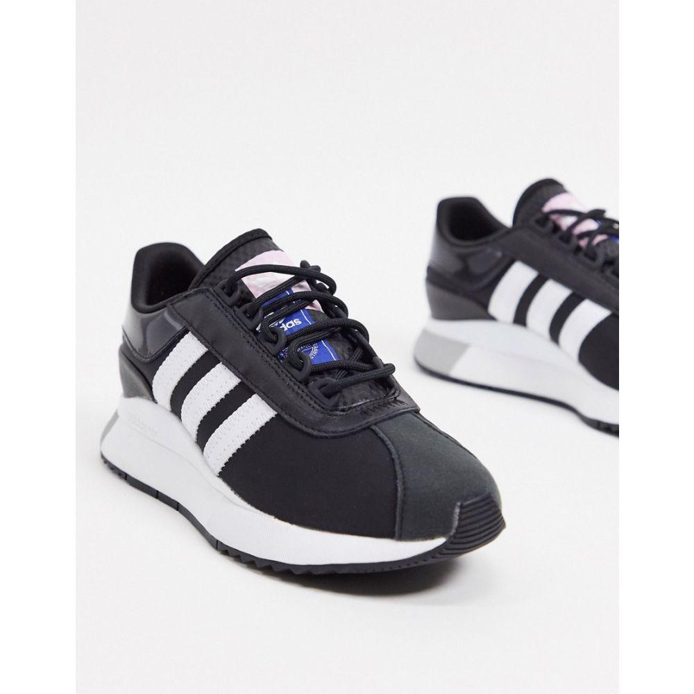 アディダス adidas Originals レディース スニーカー シューズ・靴【SL Andridge trainers in black and white】White