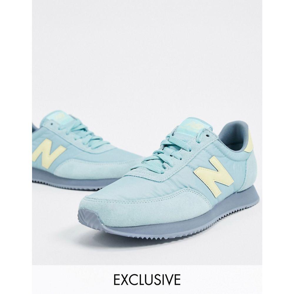 ニューバランス New Balance レディース スニーカー シューズ・靴【720 trainers in blue yellow】Blue