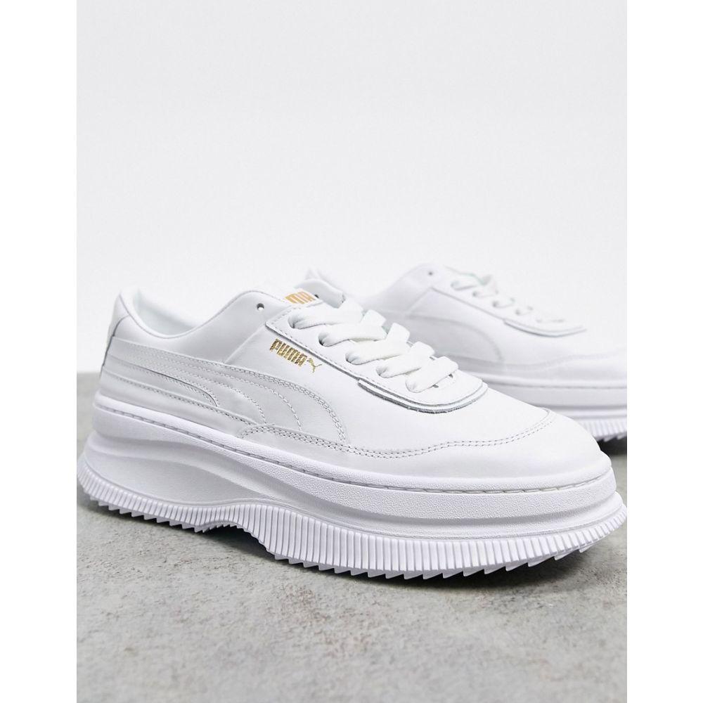プーマ Puma レディース スニーカー シューズ・靴【Deva Trainers in White】White