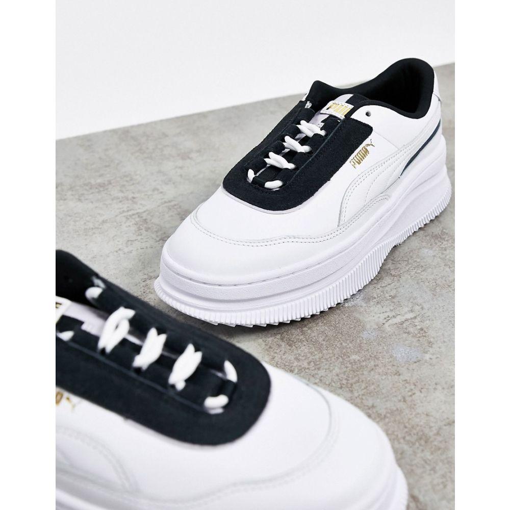 プーマ Puma レディース スニーカー シューズ・靴【Deva Chic Trainers in White】White
