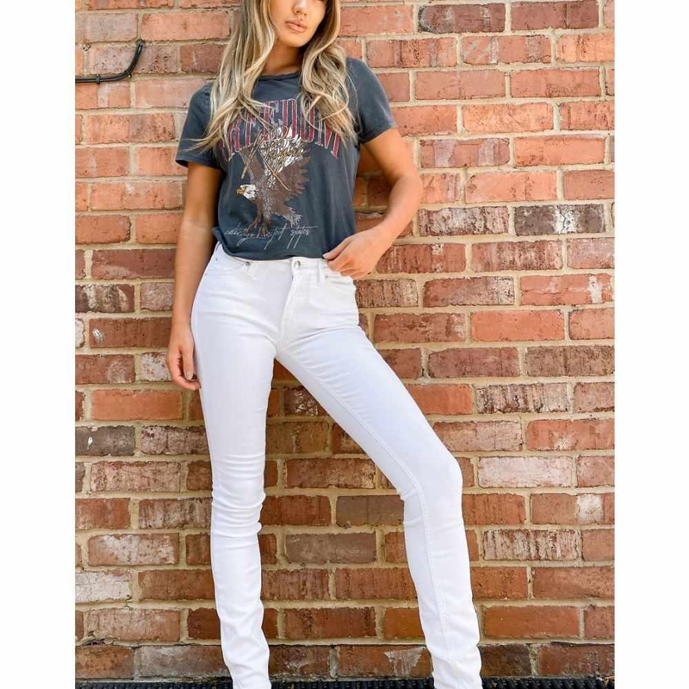 カルバンクライン Calvin Klein レディース ジーンズ・デニム ボトムス・パンツ【mid rise skinny jeans in white】Da white