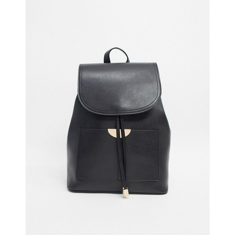 トリュフコレクション Truffle Collection レディース バックパック・リュック バッグ【Faux Leather Backpack】Black