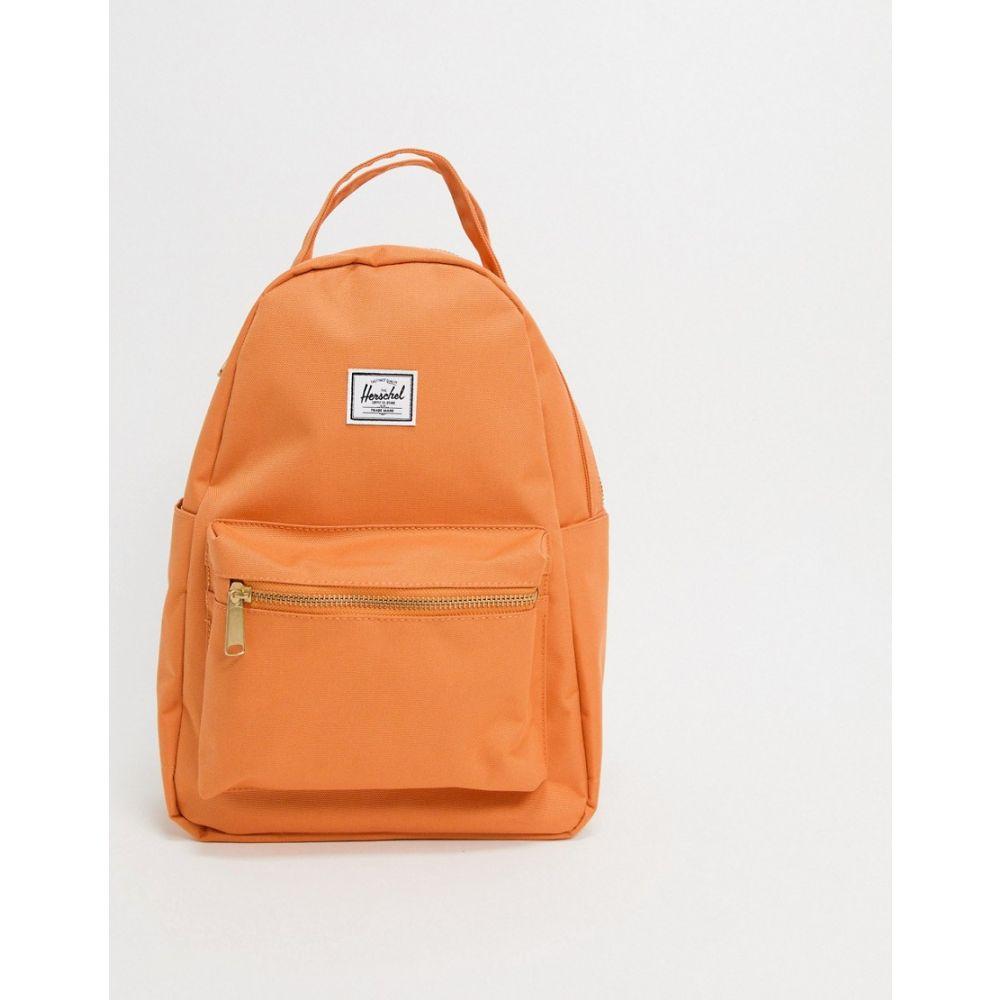 ハーシェル サプライ Herschel Supply Co レディース バックパック・リュック バッグ【Herschel Supply co. Nova backpack in papaya】Papaya
