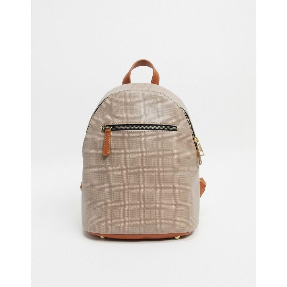 トリュフコレクション Truffle Collection レディース バックパック・リュック バッグ【Checked Backpack】Mono