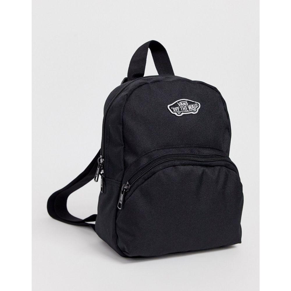 ヴァンズ Vans レディース バックパック・リュック バッグ【Got This Mini backpack in black】Black