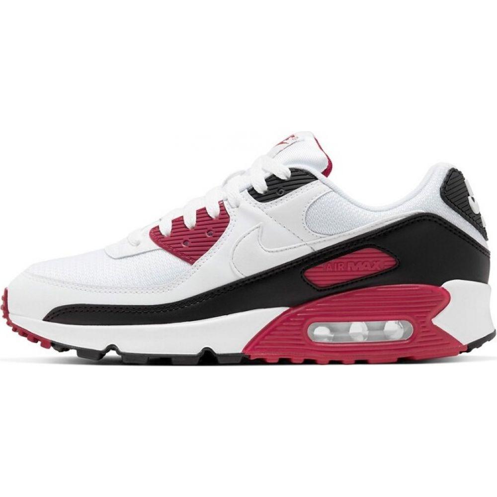 ナイキ Nike メンズ スニーカー エアマックス 90 シューズ・靴【Air Max 90 trainers in white/red】White/red