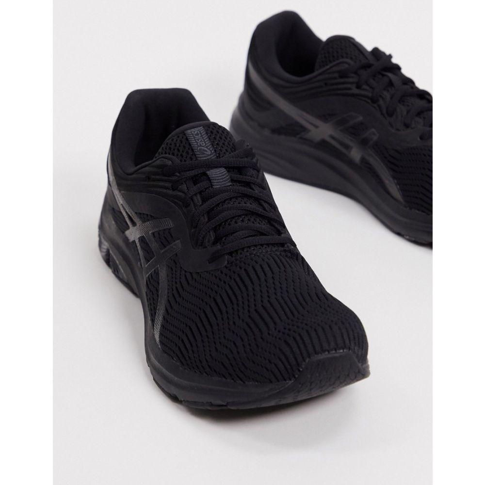 アシックス Asics メンズ ランニング・ウォーキング シューズ・靴【Running Gel-Pulse 11 trainers in black and grey】Black