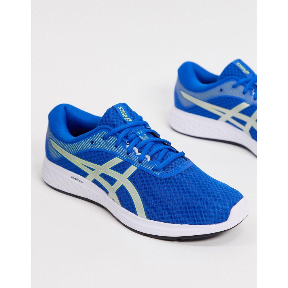 アシックス Asics メンズ ランニング・ウォーキング シューズ・靴【Running Patriot 11 trainers in blue and silver】Blue