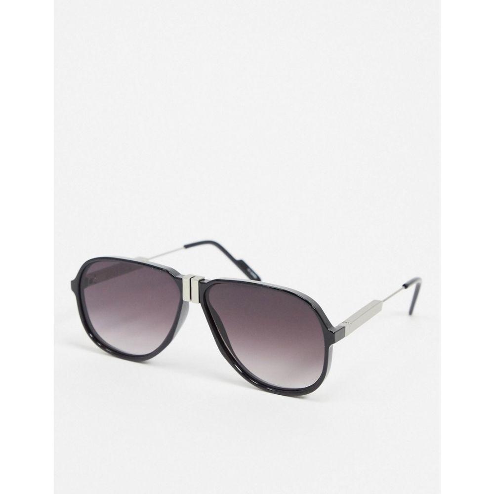 スピットファイア Spitfire メンズ メガネ・サングラス アビエイター【DPE aviator sunglasses in black】Black