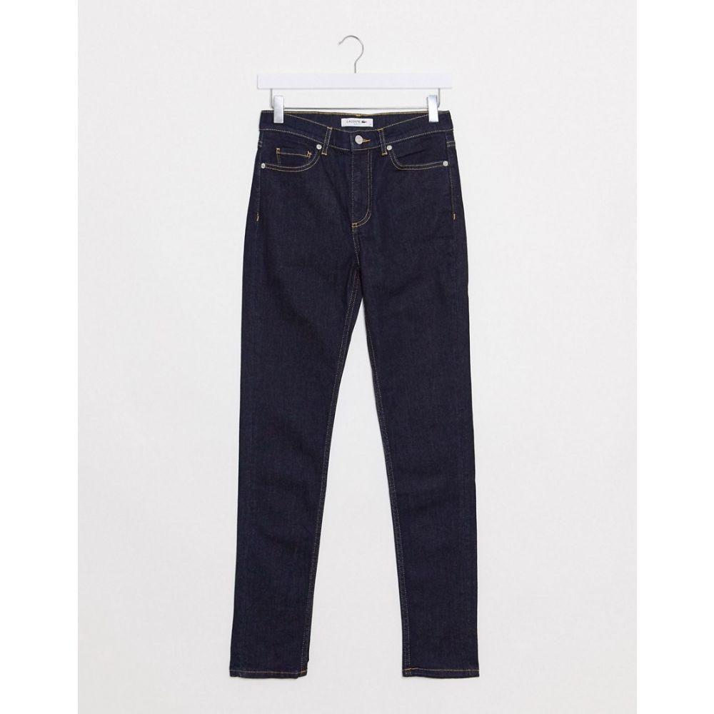 ラコステ Lacoste メンズ ジーンズ・デニム ボトムス・パンツ【slim fit jeans】Navy