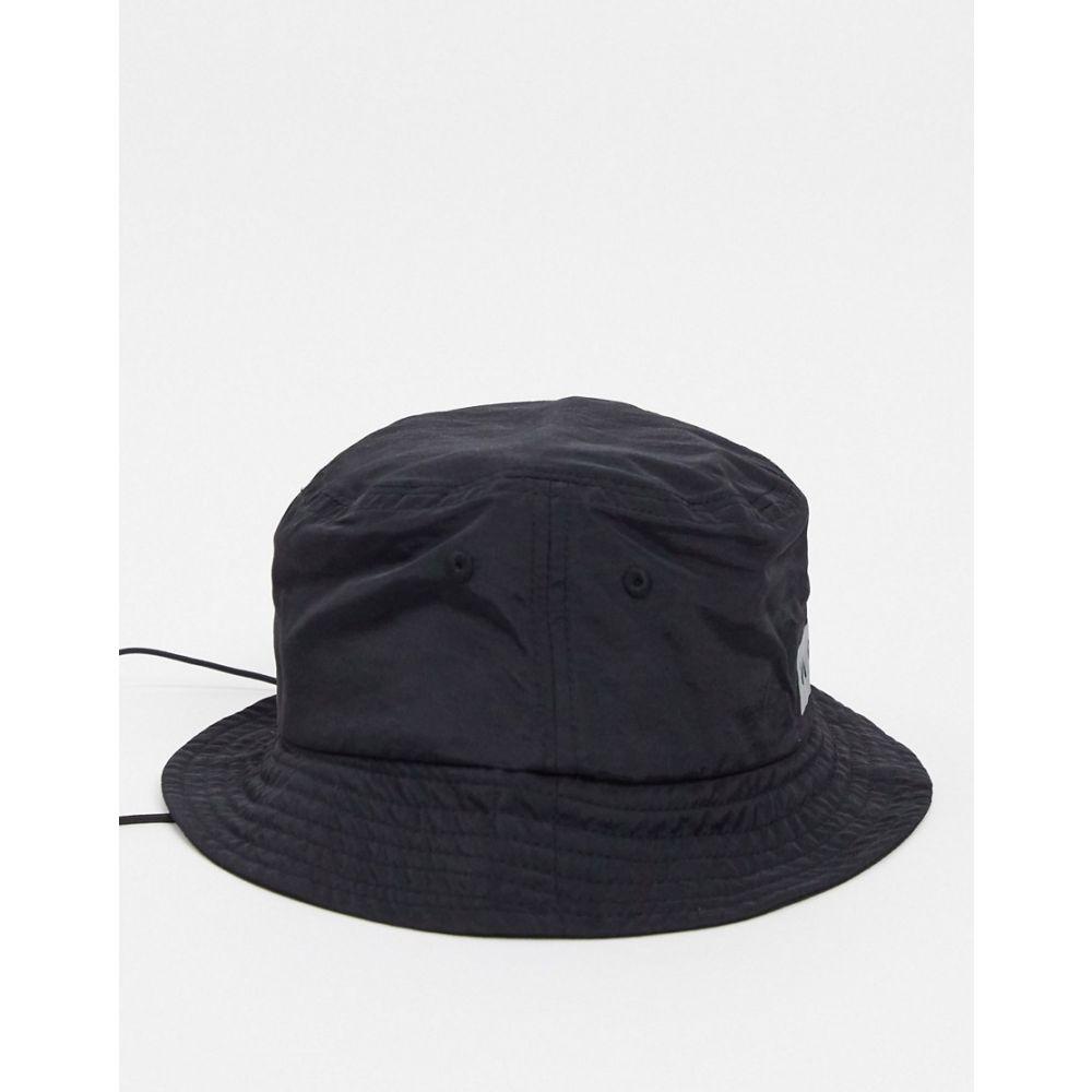 ニッチェ ロンドン Nicce メンズ ハット バケットハット 帽子【Viper reflective logo bucket hat with toggle】Black