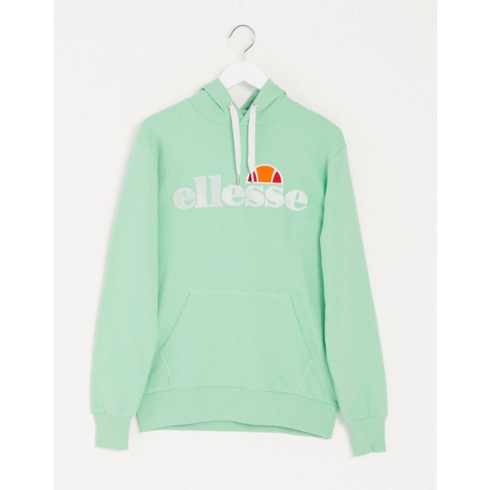 エレッセ ellesse メンズ パーカー トップス【Noldor hoodie in green】Green