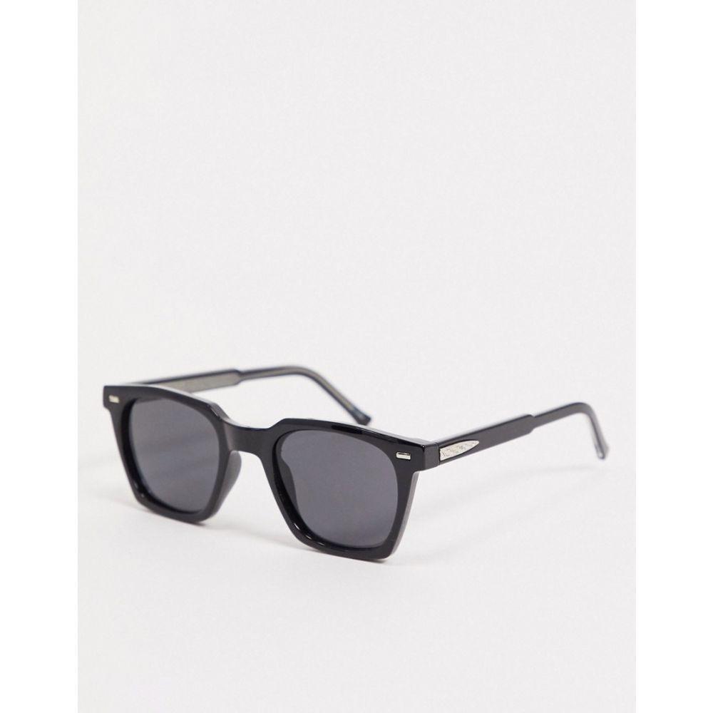 スピットファイア Spitfire メンズ メガネ・サングラス スクエアフレーム【BC2 square sunglasses in black】Black