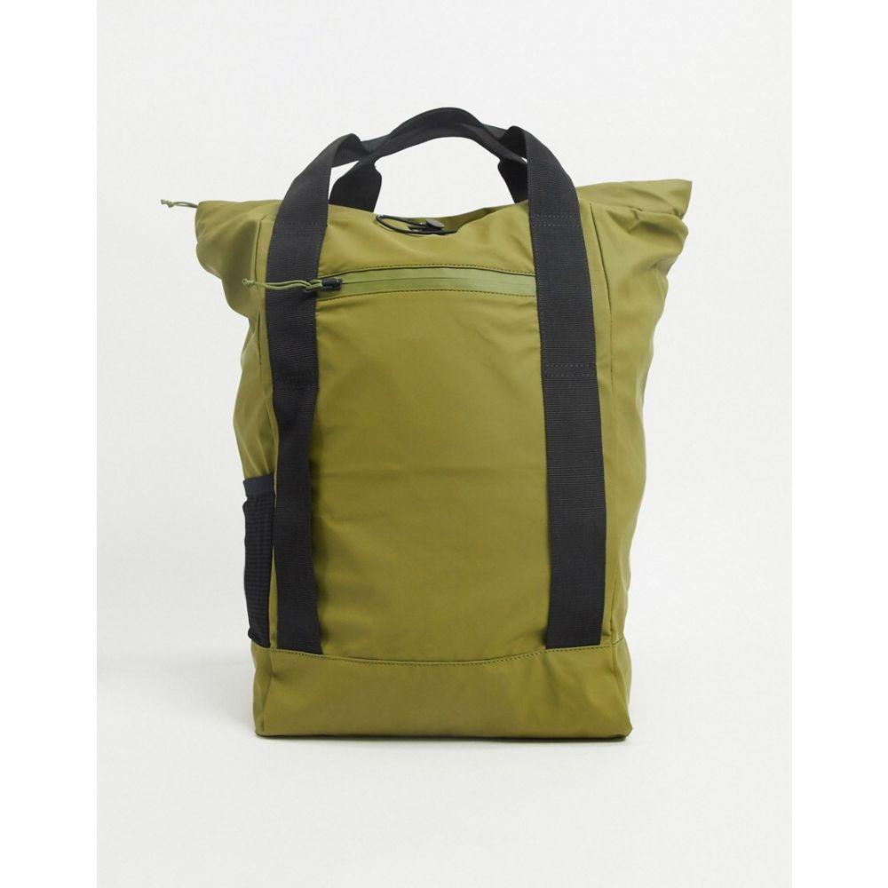 レインズ Rains メンズ トートバッグ バッグ【1347 ultralight tote bag in sage green】Green