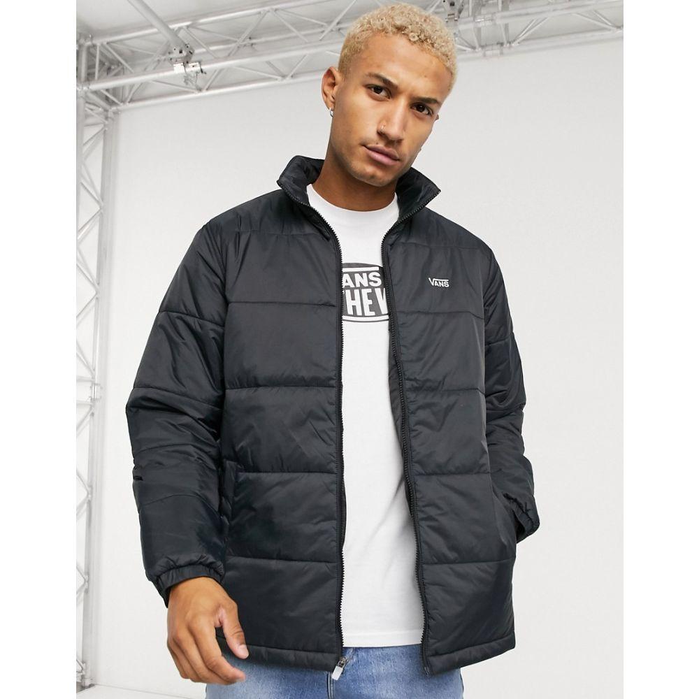 ヴァンズ Vans メンズ ダウン・中綿ジャケット アウター【Layton puffer jacket in black】Black