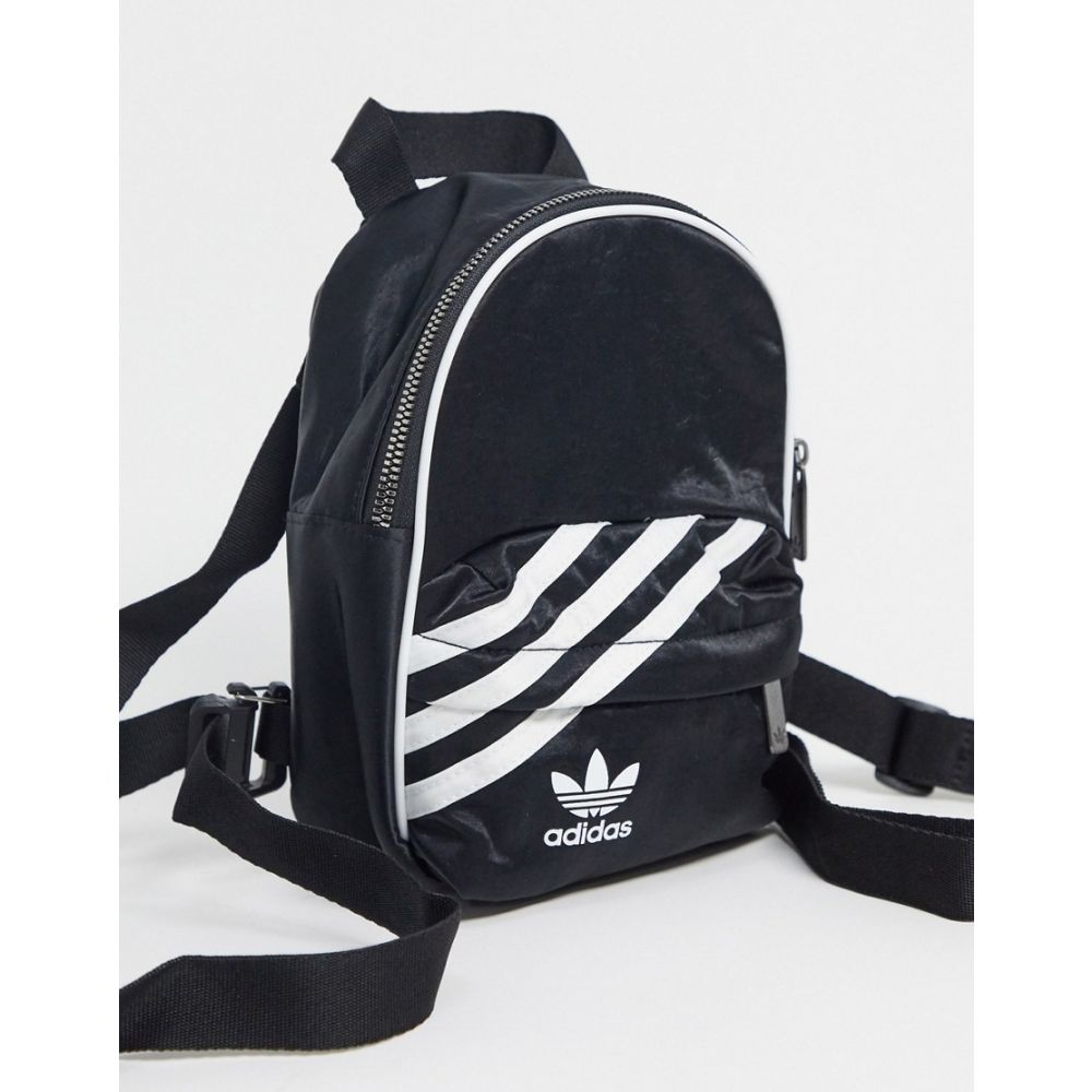 アディダス adidas Originals レディース バックパック・リュック バッグ【trefoil mini backpack in black】Black