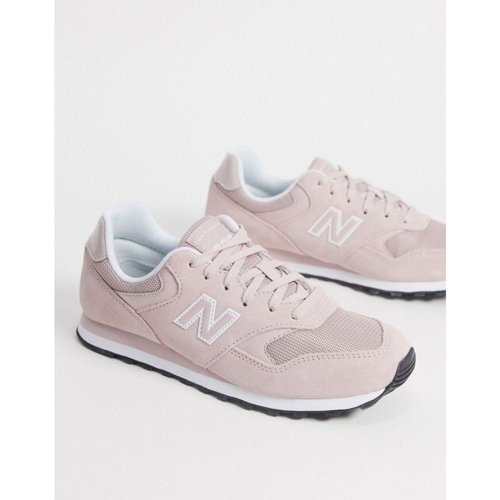 ニューバランス New Balance レディース スニーカー シューズ・靴【393 trainers in space pink】Space pink