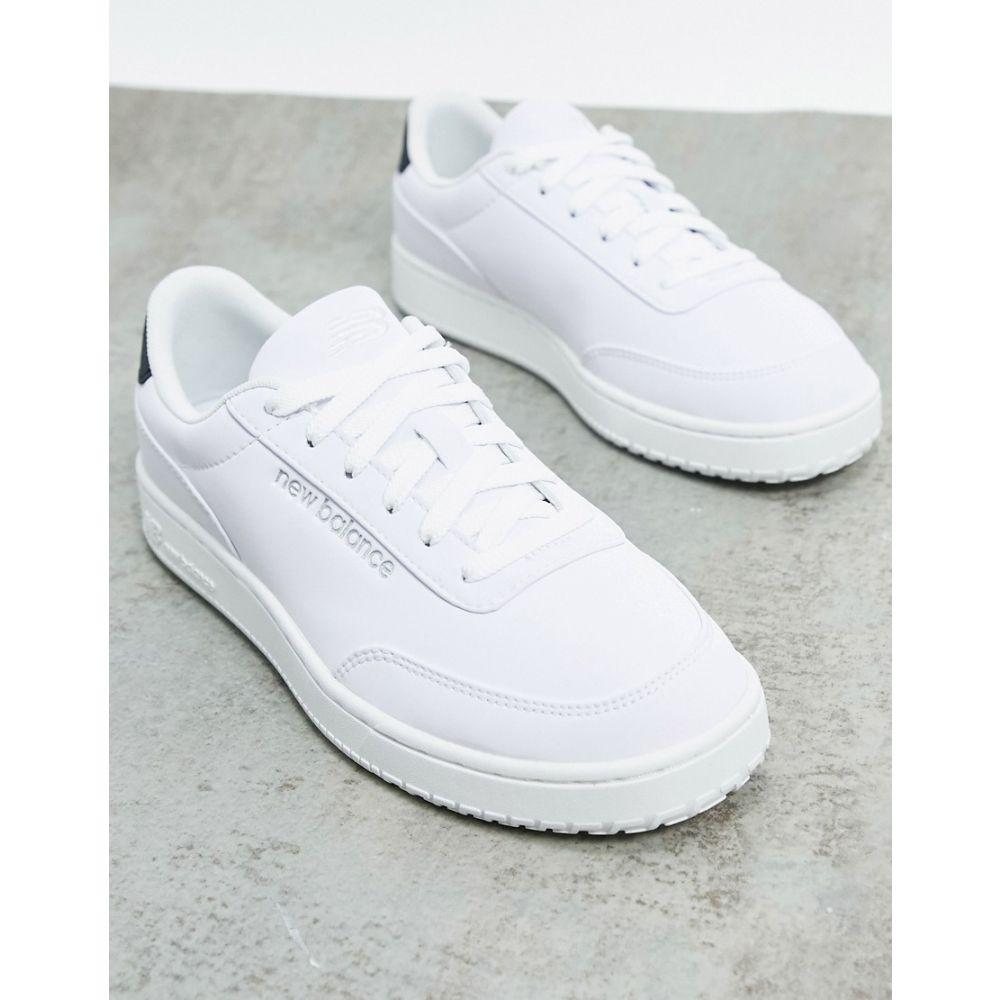 ニューバランス New Balance レディース スニーカー シューズ・靴【CTALY cosmic trainers in white】White