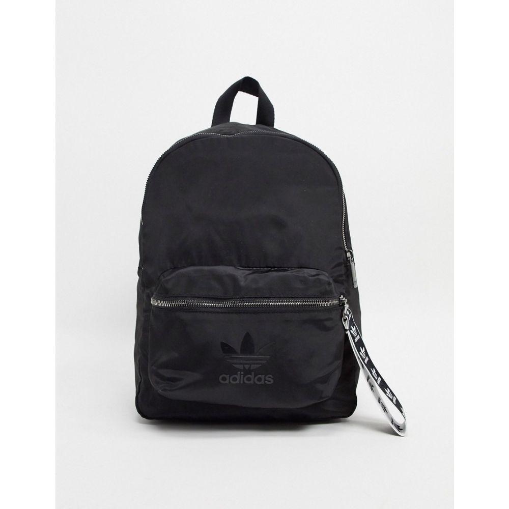 アディダス adidas Originals レディース バックパック・リュック バッグ【trefoil backpack in black】Black