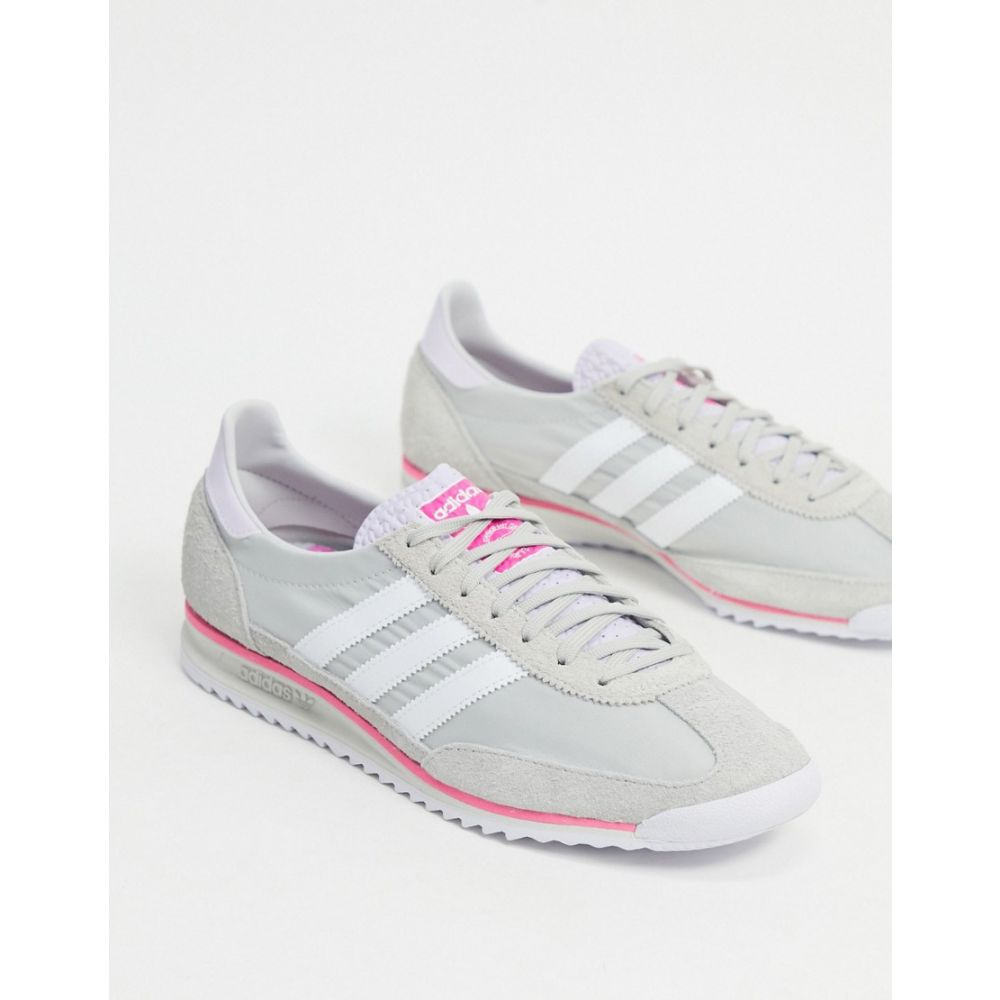 SL 72 trainers in grey and pink
