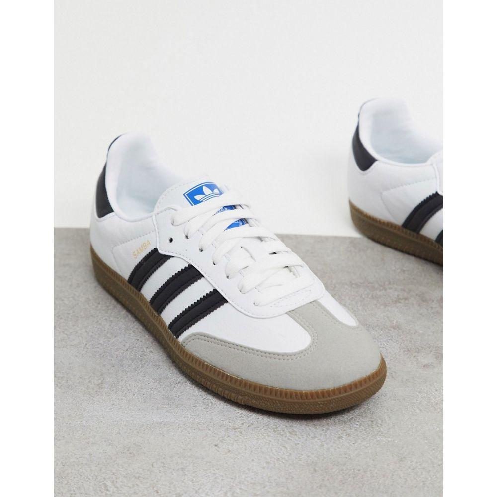 アディダス adidas Originals レディース スニーカー シューズ・靴【Vegan Samba trainers in white】White