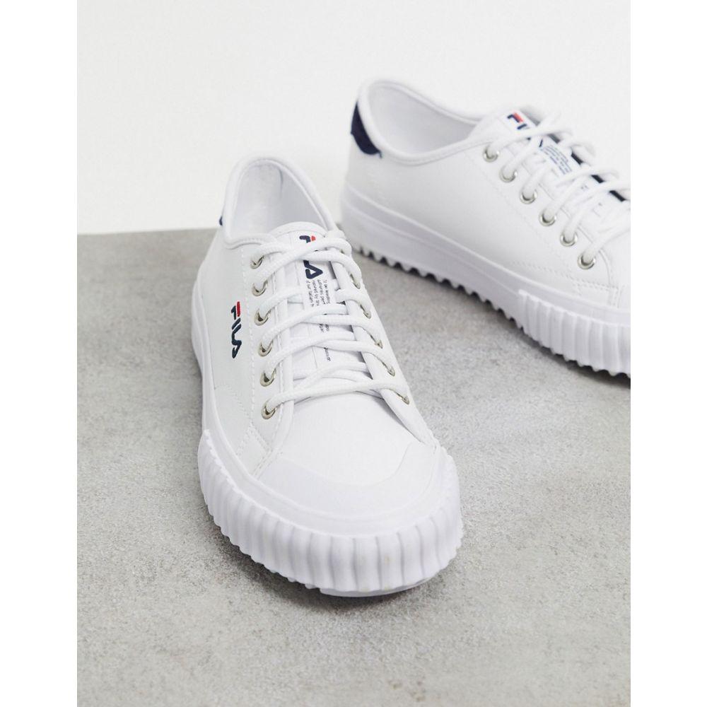 フィラ Fila レディース スニーカー シューズ・靴【Korea Classic Kicks trainers in white】White