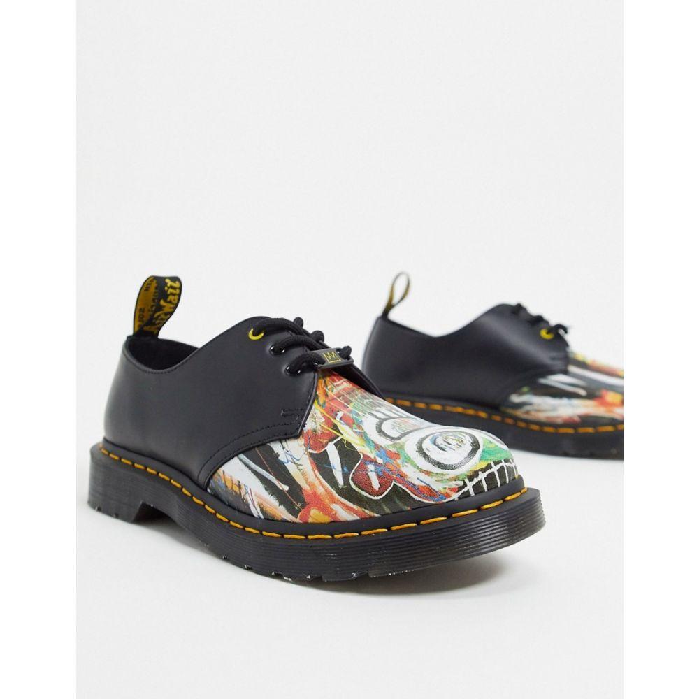 ドクターマーチン Dr Martens レディース シューズ・靴 【x Basquiat 1461 3 eye shoes in black】Black