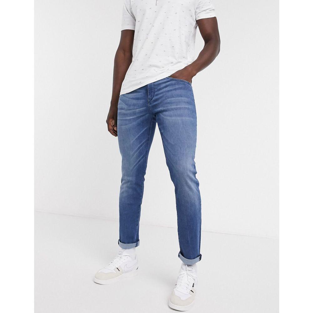 ヒューゴ ボス BOSS メンズ ジーンズ・デニム ボトムス・パンツ【Charleston skinny fit jeans in mid wash】Mid wash