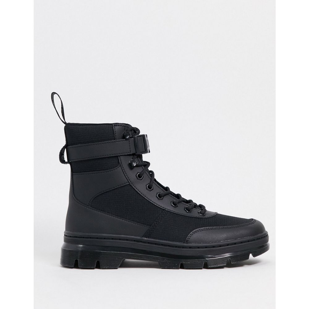 ドクターマーチン Dr Martens メンズ ブーツ シューズ・靴【coombs tech 8 eye boot in black】Black