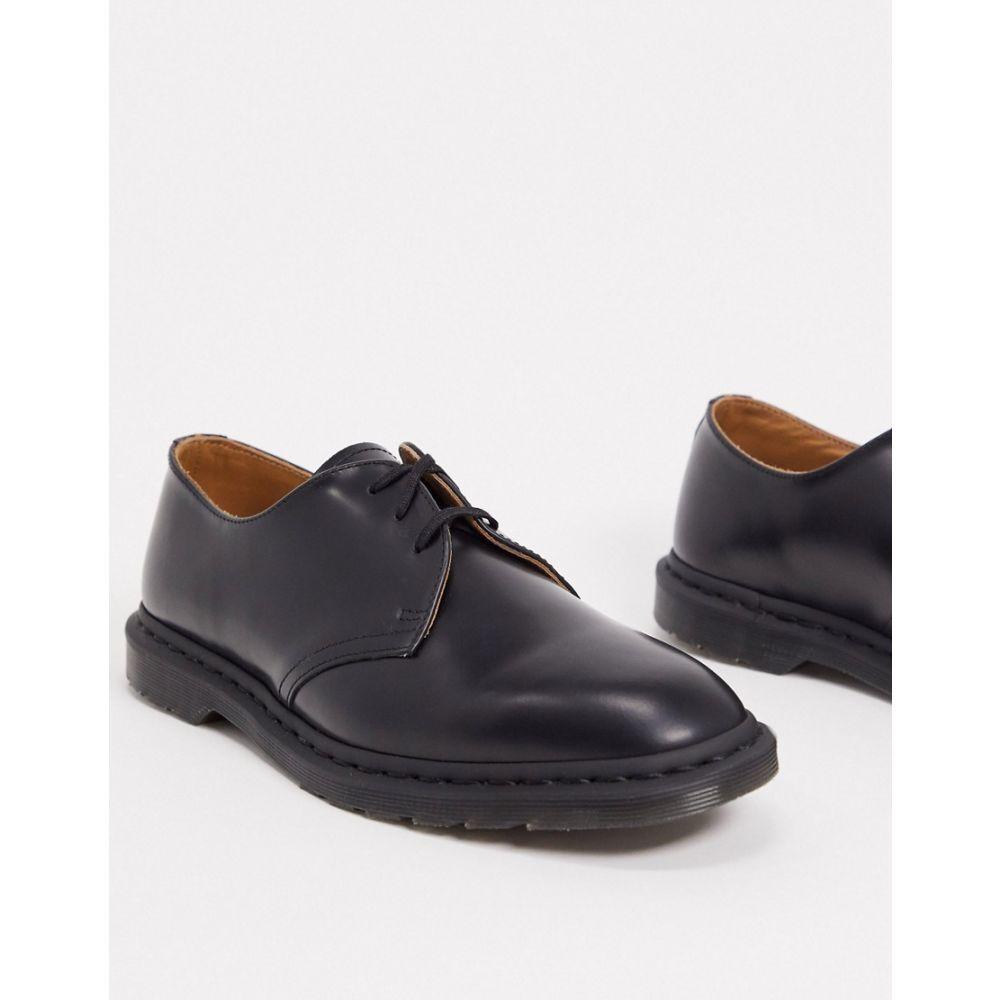 ドクターマーチン Dr Martens メンズ 革靴・ビジネスシューズ シューズ・靴【archie ii 3 eye shoes in black】Black:フェルマート