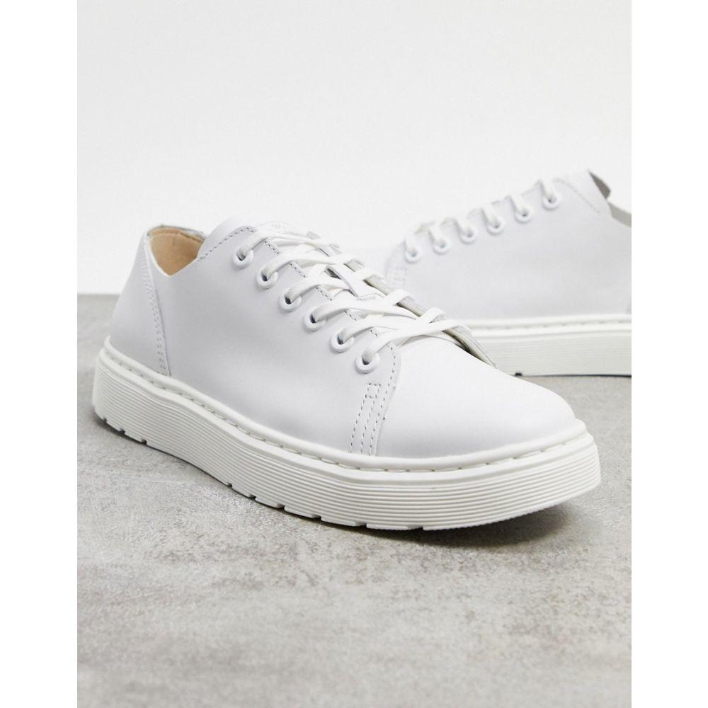ドクターマーチン Dr Martens メンズ スニーカー シューズ・靴【dante trainers in white】White