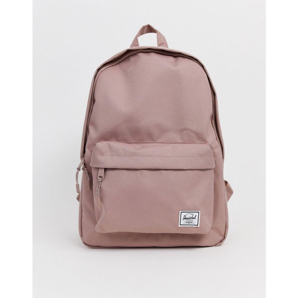 ハーシェル サプライ Herschel Supply Co レディース バックパック・リュック バッグ【Classic pink backpack】Ash rose