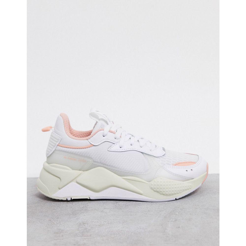 プーマ Puma レディース スニーカー シューズ・靴【RS-X tech trainers in white peach】White peach