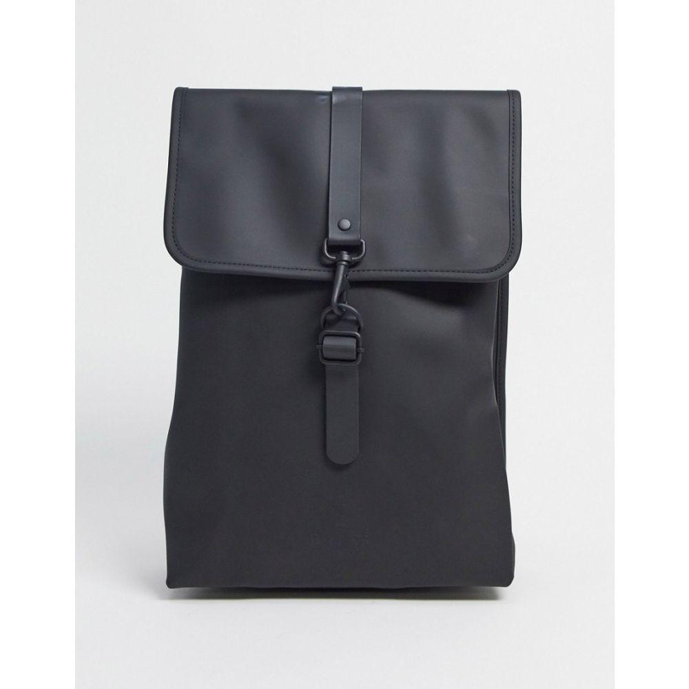 レインズ Rains レディース バックパック・リュック バッグ【rucksack in black】Black