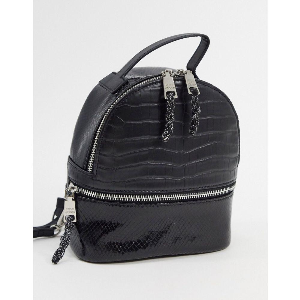 スティーブ マデン Steve Madden レディース バックパック・リュック バッグ【nile backpack in black】Black