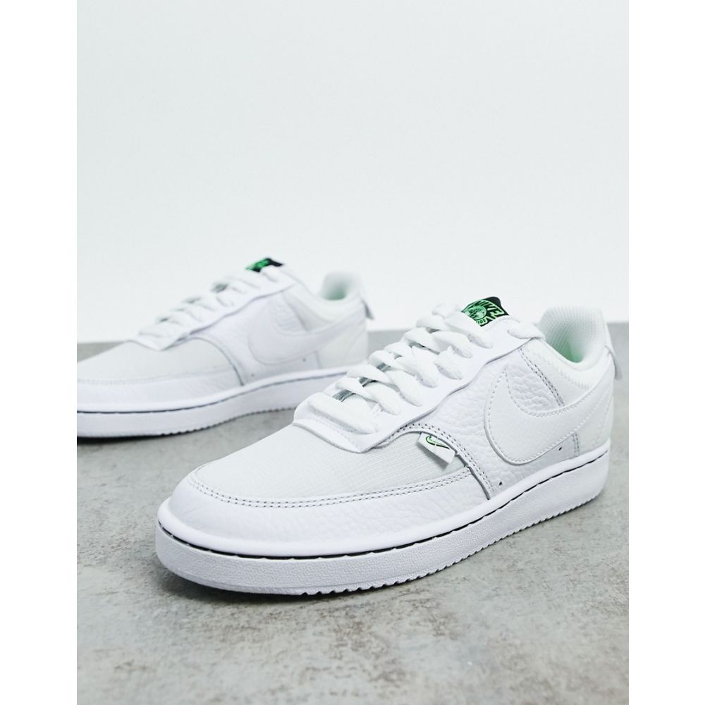 ナイキ Nike レディース スニーカー シューズ・靴【Court vision low in off white】White