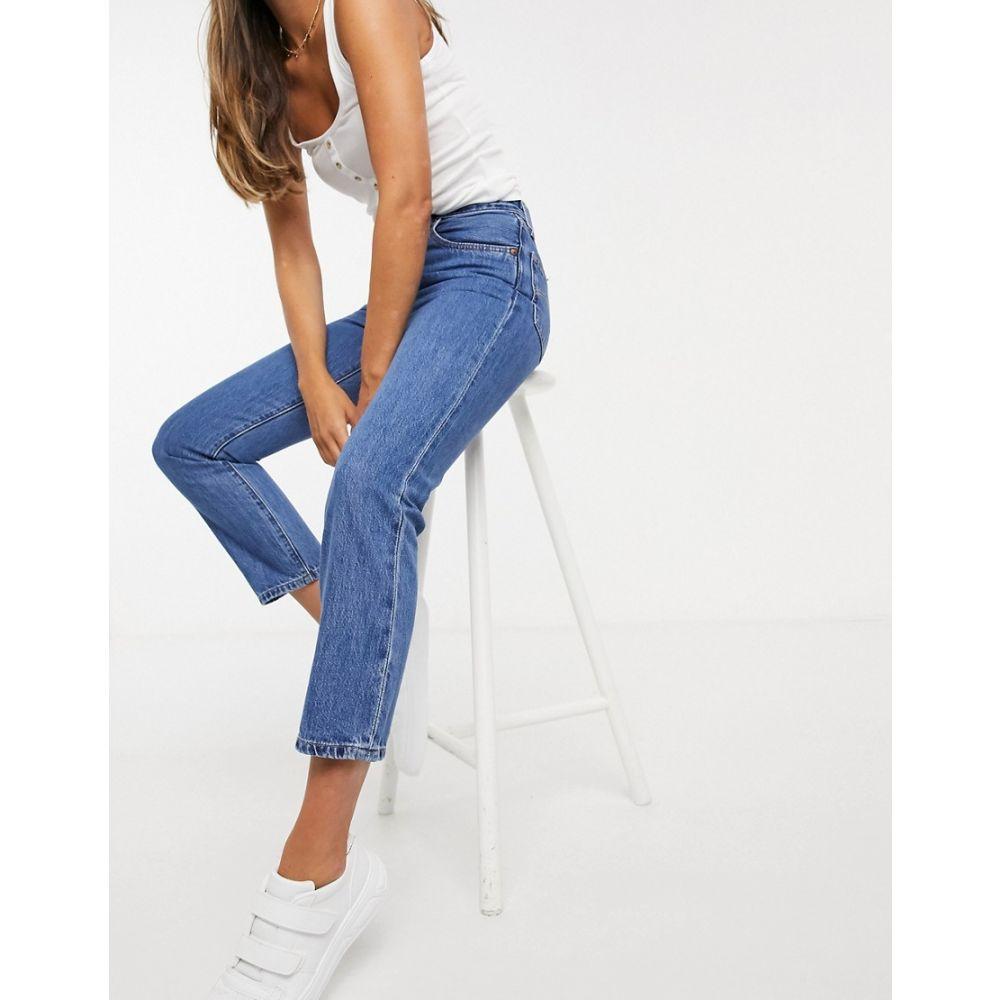 リーバイス Levi's レディース ジーンズ・デニム ボトムス・パンツ【501 crop jeans in blue】Breeze stone