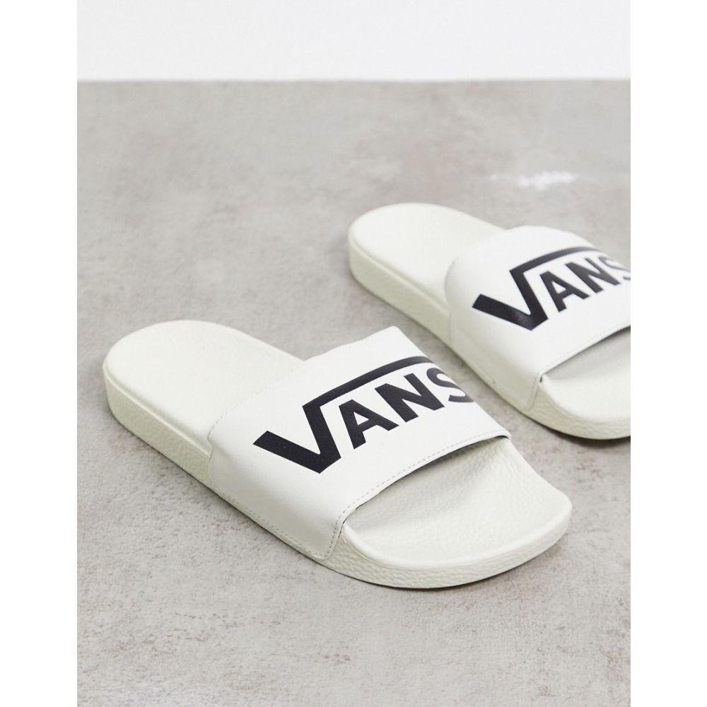 ヴァンズ Vans レディース サンダル・ミュール シューズ・靴【Slide-On sliders in cream】marshmallow