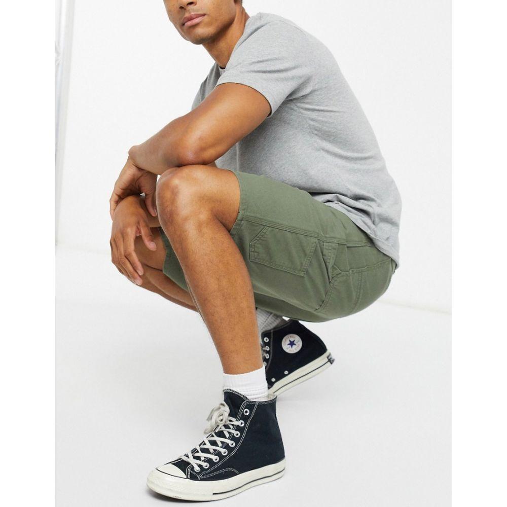 カーハート Carhartt WIP メンズ ショートパンツ ボトムス・パンツ【Ruck Single Knee short in khaki green】Dollar green