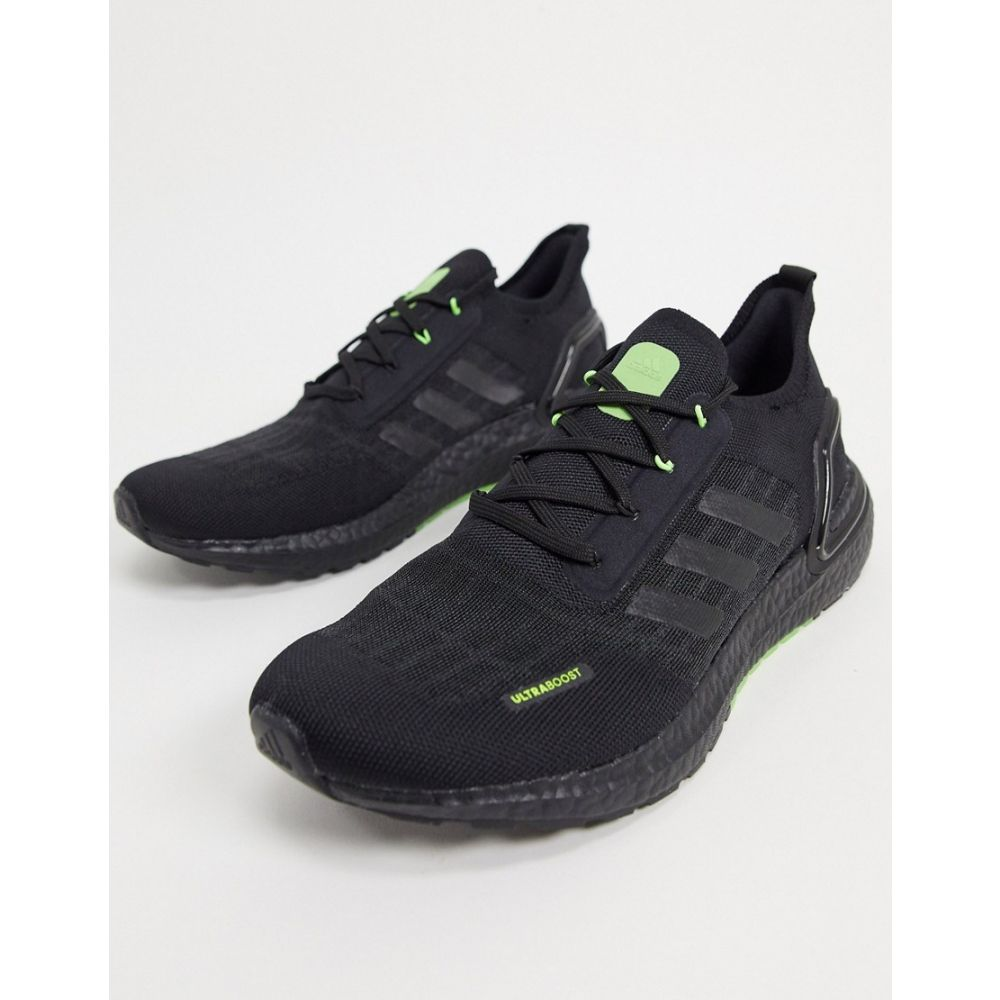 アディダス adidas メンズ スニーカー シューズ・靴【Ultraboost S.RDY trainers in black & signal green】Black/signal green