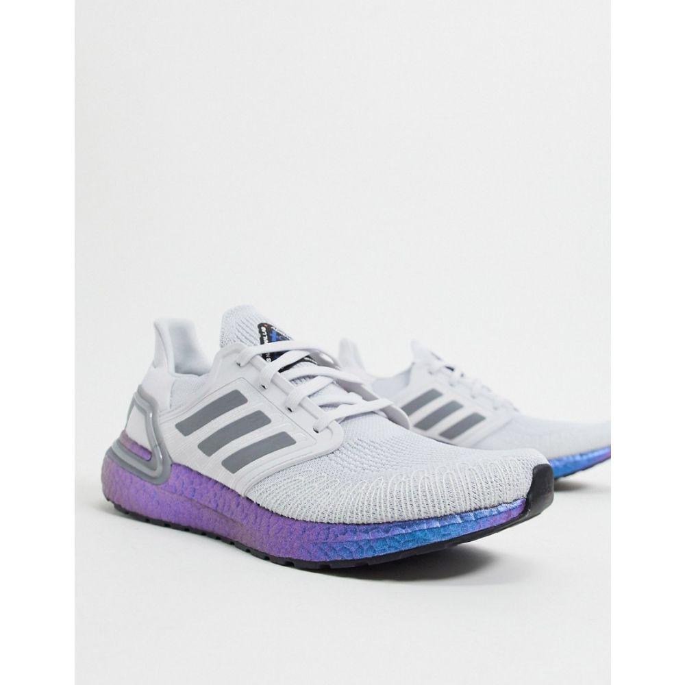 アディダス adidas メンズ スニーカー シューズ・靴【Ultraboost trainers in dash grey & boost blue violet】Dash grey/blue vio