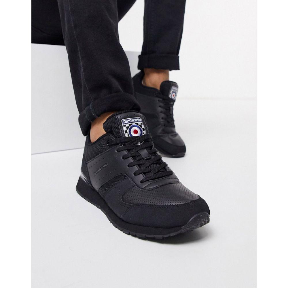 ランブレッタ Lambretta メンズ ランニング・ウォーキング シューズ・靴【runner trainer in black】Black