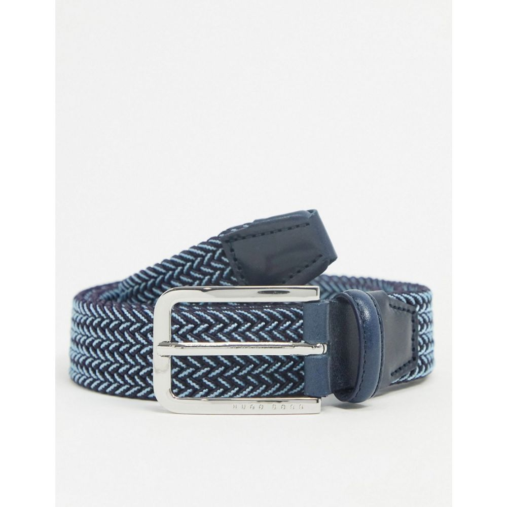 ヒューゴ ボス BOSS メンズ ベルト 【clorio leather belt】Navy