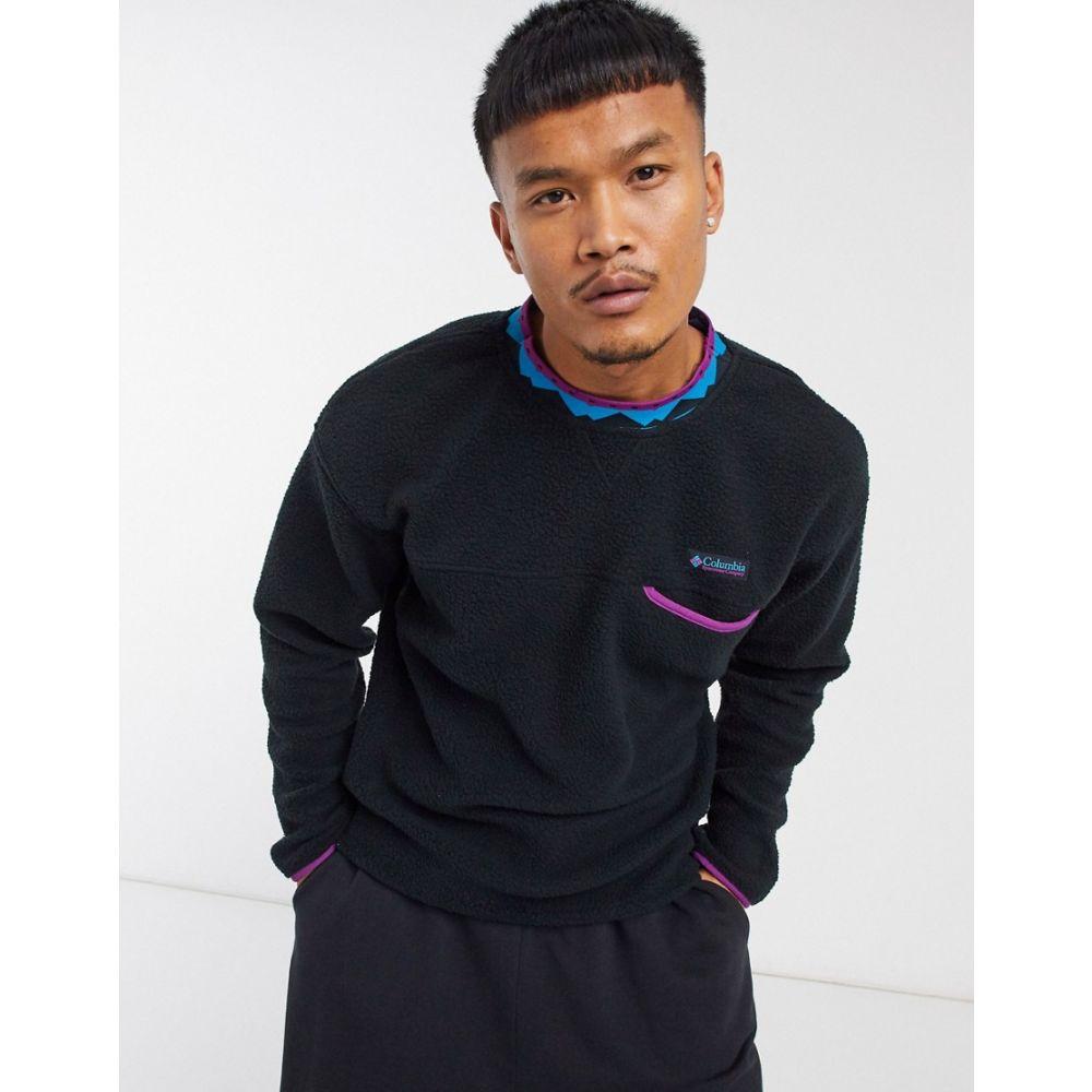 コロンビア Columbia メンズ スウェット・トレーナー トップス【Wapitoo Fleece sweatshirt in black】Black