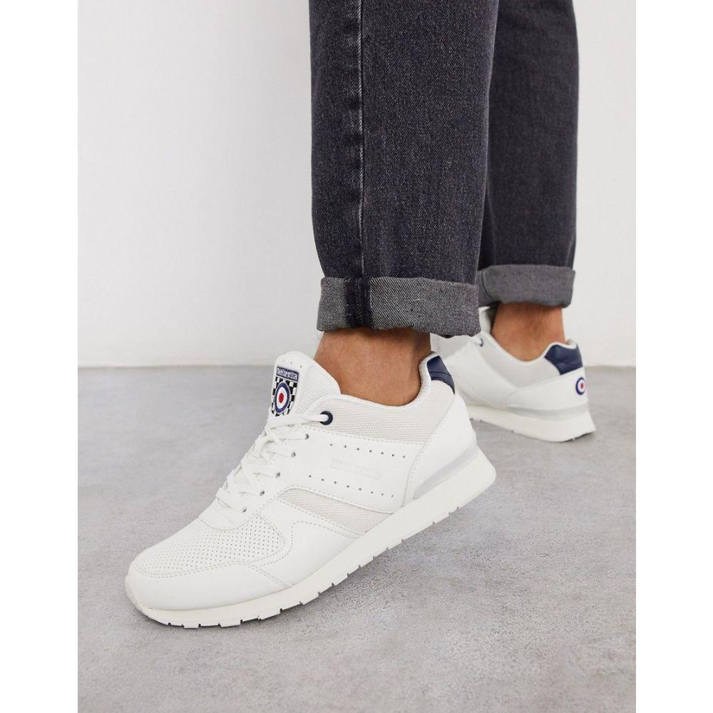 ランブレッタ Lambretta メンズ ランニング・ウォーキング シューズ・靴【runner trainer in white】White